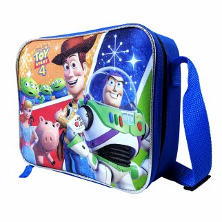 Toy Story 4 Kids Licensed Lunch Bag Tote Box