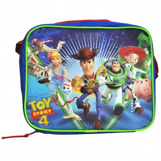 Disney Pixar Toy Story 4 Buddies Kids Insulated Lunch Bag with Shoulder Strap