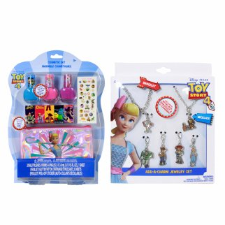 Disney Pixar Toy Story 4 Girls Dress Up Gift Set 18 Pieces