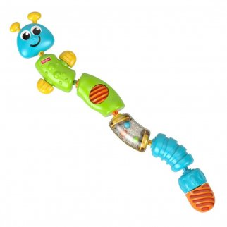 Fisher Price Colorful Snap-Lock Caterpillar Educational Toy