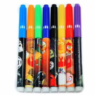 Angry Birds Star Wars 8 Piece Marker Pack