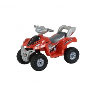 Lil ATV Quad Kids Battery Powered Ride On Car in Red
