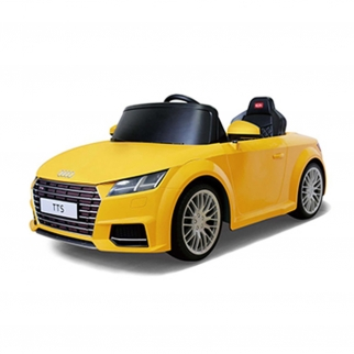 2017 Audi TT Yellow battery powered kids car with remote control