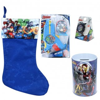 Marvel Avengers Holiday Stocking Stuffer Bundle Gift