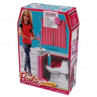 Mattel Barbie Fashion Sink and Toilet