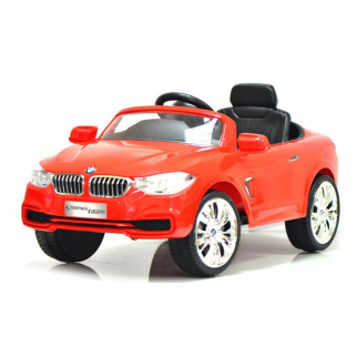 Licensed BMW 4 Series 12V Kids Battery Powered Ride On Car - Red