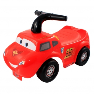Cars Lightning McQueen Ride On Toy Lights and Sounds Vehicle