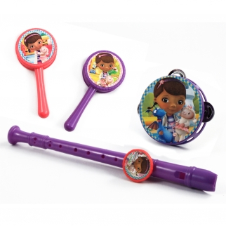 Disney Doc McStuffins Kids Pretend Play Musical Instrument Toy Set