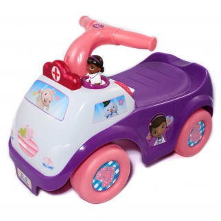 Doc McStuffins Ride On Toy Lights and Sounds Vehicle