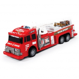 Friction Powered Fire Rescue Truck