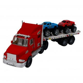 Toy Transport Truck Red