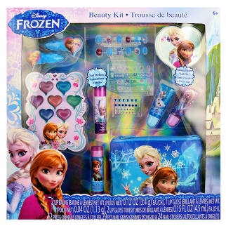 Disney Frozen Anna and Elsa Beauty Cosmetic Set