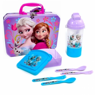 Disney Frozen Lunch Set Anna And Elsa