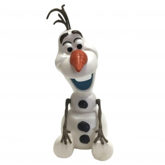 Disney Frozen Olaf Coin Bank Front