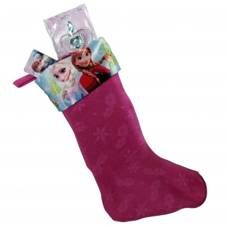 Disney Frozen Ultimate Kids and Girls Christmas Stocking Stuffers Bundle with Stocking Plus 6 Extra Gifts