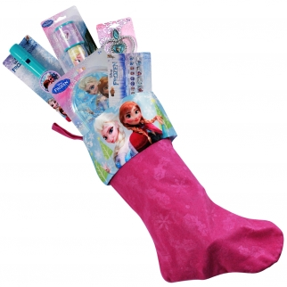 9pc Stocking FIllers with Xmas Stocking Bundle Frozen Movie Disney
