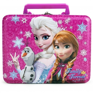 Disney Frozen Elsa and Anna Tin Lunch Box