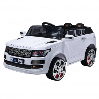 Luxury SUV 12V Kids Battery Powered Ride On Car in White
