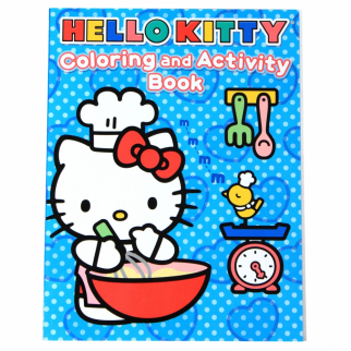 Hello Kitty Kids Coloring and Activity Book
