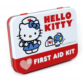 Hello Kitty First Aid Kit Collectible Tin