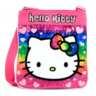 Sanrio Hello Kitty Girls Passport Messenger Bag