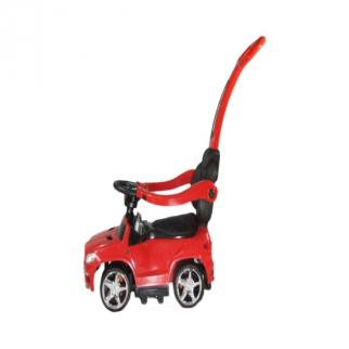 4 in 1 Stroller, Push Car, Ride On Car Red