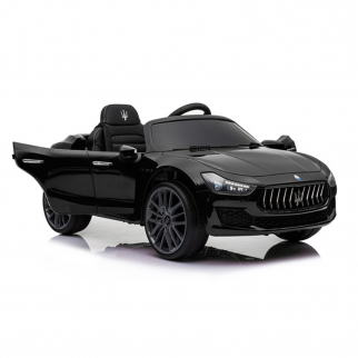 Kidplay Licensed Maserati Ghibli Kids Ride On Car 12V Battery Powered - Black