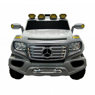 Mercedes G SUV Kids Ride On Car - Silver