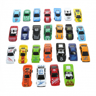 KidPlay Action Toy Diecast Race Car Vehicle Play Set - 25pc