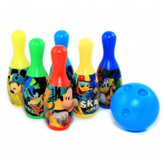 Mickey Mouse 7pc Bowling Set