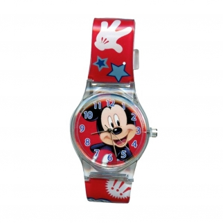 Disney's Mickey Mouse and Friends Children's Analog Watch minnie mouse goofy pluto kids analog learning time watch