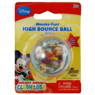 Bouncy Ball Super High Disney Kids and Boys Toy Mickey Mouse Theme