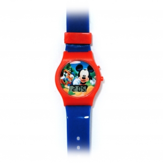 Digtial Mickey Mouse Wrist Watch
