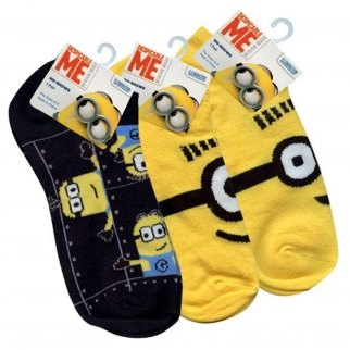 universal studio minions despicable me kids ankle socks minion toys kids socks for boys girls minion costume goggles