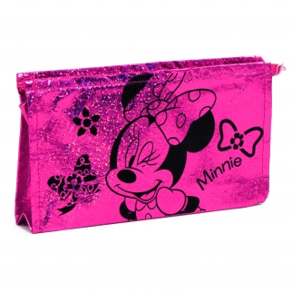 Disney Minnie Mouse Girls Cosmetic Make Up Bag Tote Pouch