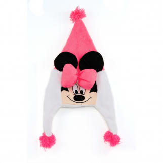 Disney Minnie Mouse Plush Earflap Beanie
