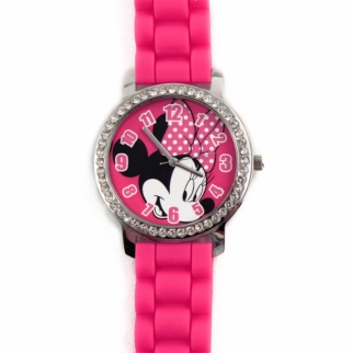 Disney Minnie Mouse Rhinestone Watch