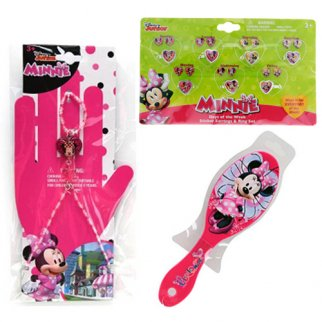 Disney Minnie Mouse Girls Dress Up Gift Set 23pc