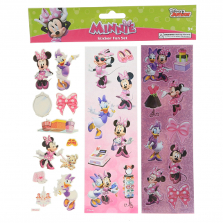 Disney Minnie Mouse Girls Crafting Stickers Kids Art Supplies Stocking Stuffer
