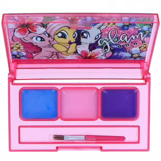 My Little Pony Glam Squad Girls Lip Gloss Compact Kids Make Up Cosmetic Gift Set