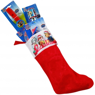 Nickelodeon Paw Patrol 5 piece Holiday Stocking Stuffer Kids Gift Bundle