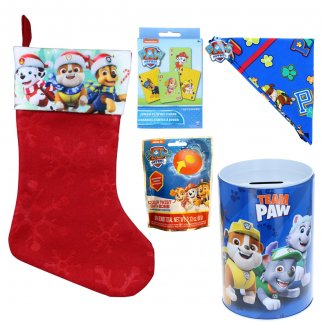 Paw Patrol Holiday Stocking Stuffer Bundle Gift