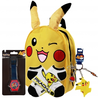 Cool Pokemon Pikachu Accessory Gift Set