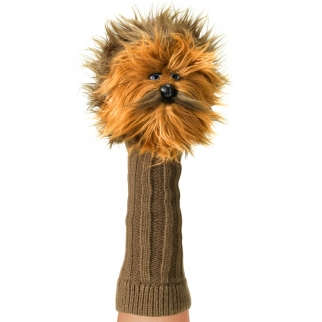 Licensed Hand Puppet Star Wars Collection Figure for Self Expression and Pretend Play Chewbacca Character