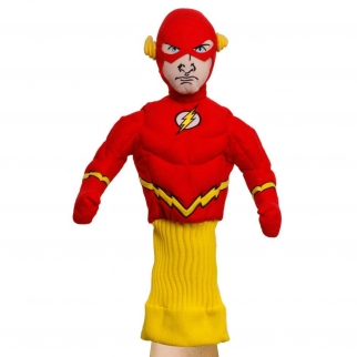 licensed flash hand puppet figure for kids self expression flash comic books dc children's puppets pretend play season