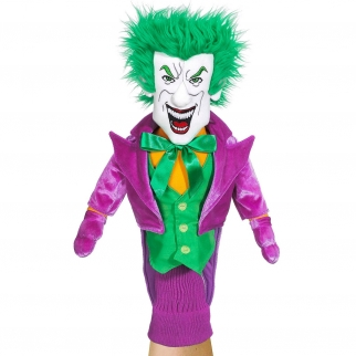 Licensed Hand Puppet Batman Trilogy Figure for Self Expression and Pretend Play The Joker Character