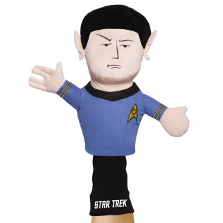 Licensed Star Trek Hand Puppet Figure for Kids Self Expression - Spock