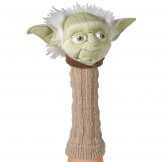 Licensed Hand Puppet Star Wars Collection Figure for Self Expression and Pretend Play Yoda Character