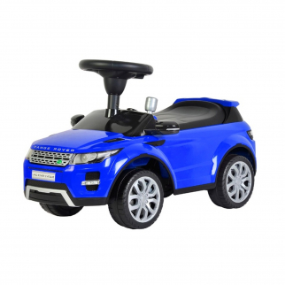 Licensed Range Rover Push Kids Ride On Car - Blue