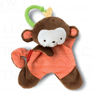 Fisher-Price Snugamonkey Monkey Shaped Cuddle Blanket Toy